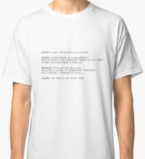Castle and Beckett - How to find Beckett Classic T-Shirt