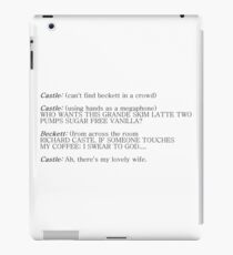 Castle and Beckett - How to find Beckett iPad Case/Skin