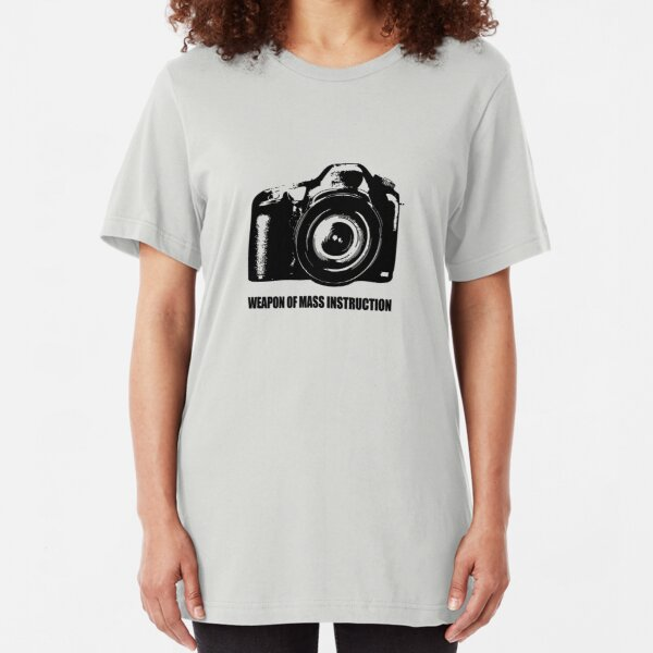 weapon of mass instruction Slim Fit T-Shirt