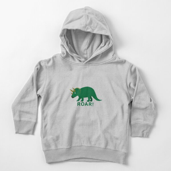 Triceratops Toddler Pullover Hoodie