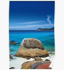 Plum Pudding Rock Poster