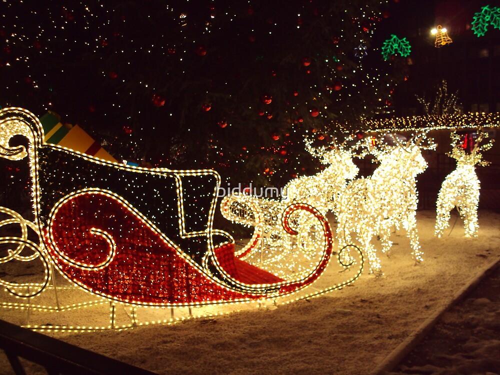 I hear Santa coming! by biddumy