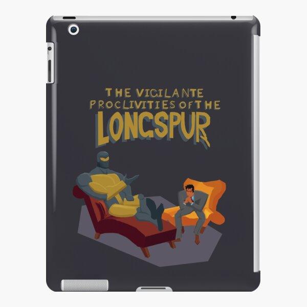 The Vigilante Proclivities of the Longspur iPad Snap Case