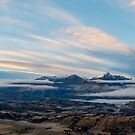 Queenstown New Zealand Panorama by Adrian Alford Photography