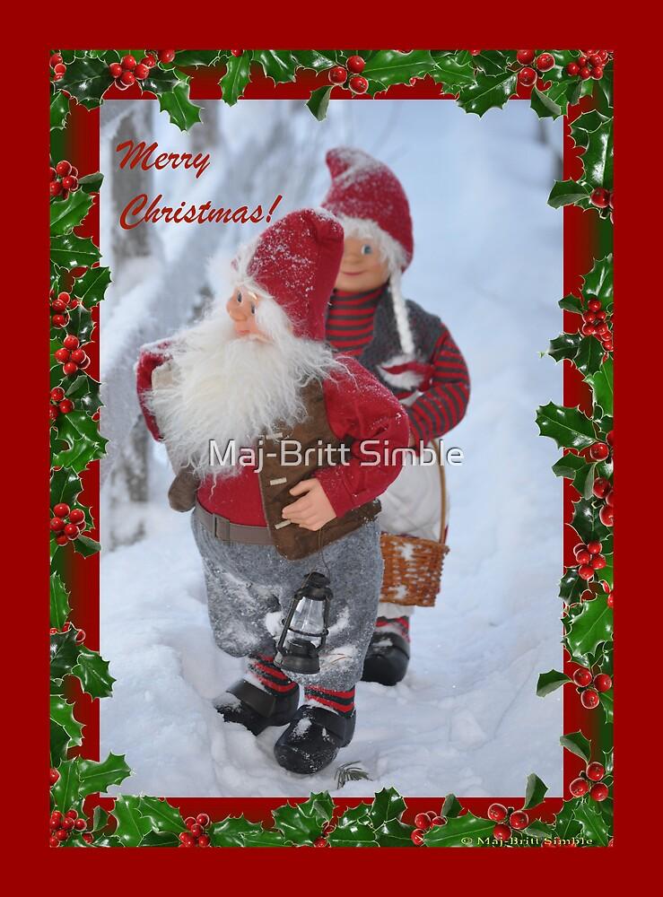 Merry Christmas - card16  :-) by Maj-Britt Simble