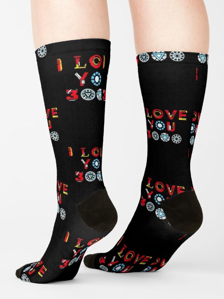Alternate view of I Love You 3000 v3 Socks