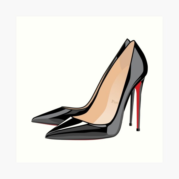 heels aka femme fatale Art Print