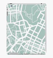 Minimal Maps - Tokyo J.P. iPad Case/Skin