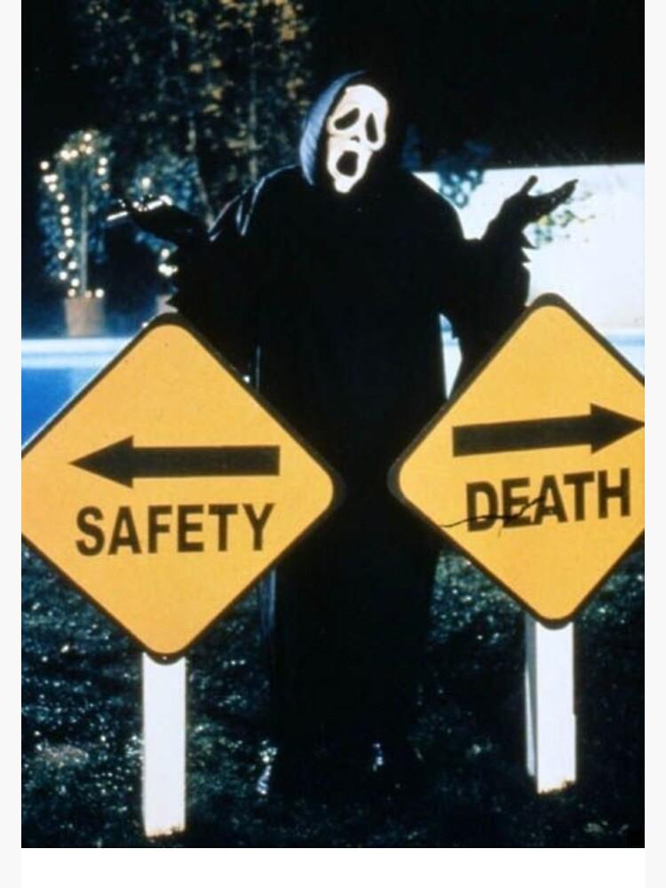 Safety <--> Death by crumpetstrumpet