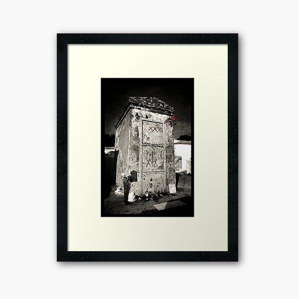 Marie Laveau's Tomb Framed Art Print