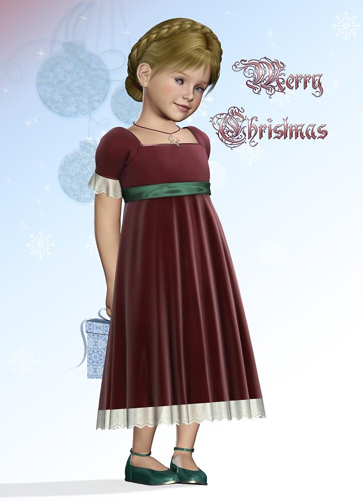 Christmas Girl by DigitalFox