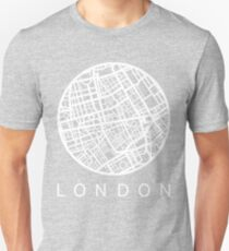 Minimal Maps - London U.K T-Shirt