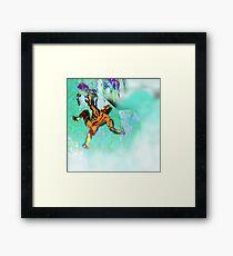 Ice Axe mutant 2. Framed Print