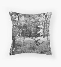 Marching Throw Pillow