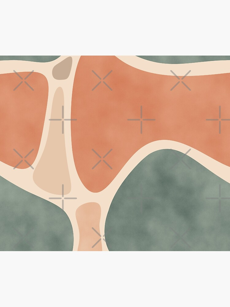 Earth Tones Shapes by designdn