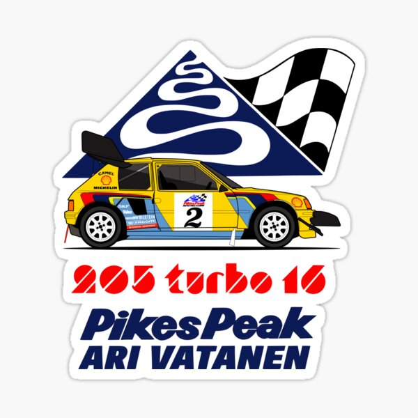 Ari Vatanen 87 Sticker