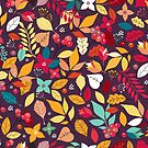 Autumn Colorful Pattern by zoljo