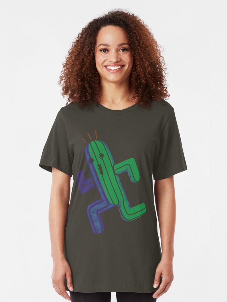 Vista alternativa de Camiseta ajustada Boing!