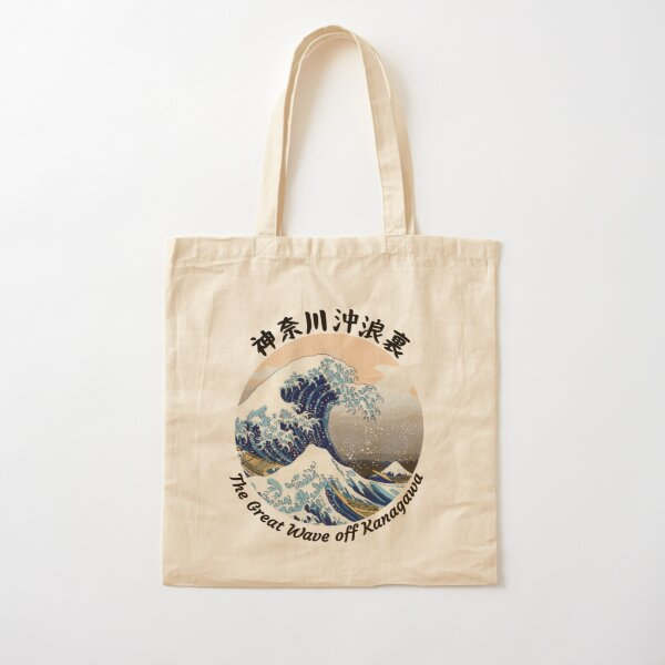 The great wave off Kanagawa Cotton Tote Bag