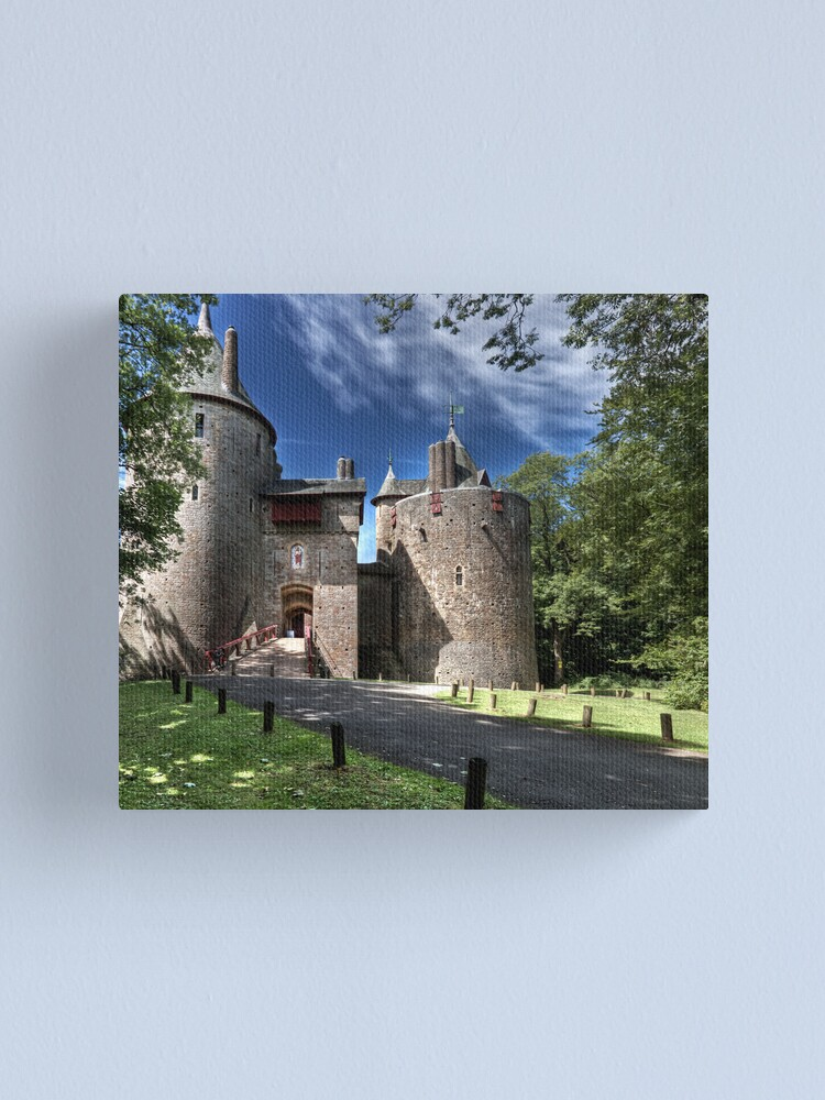 Alternate view of Castell Coch Canvas Print