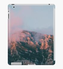 Mountains in the background VI iPad Case/Skin