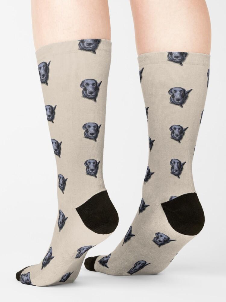 Alternate view of Jacob the Labrador Retriever Socks