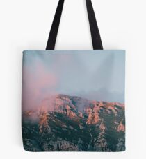 Mountains in the background VI Tote Bag