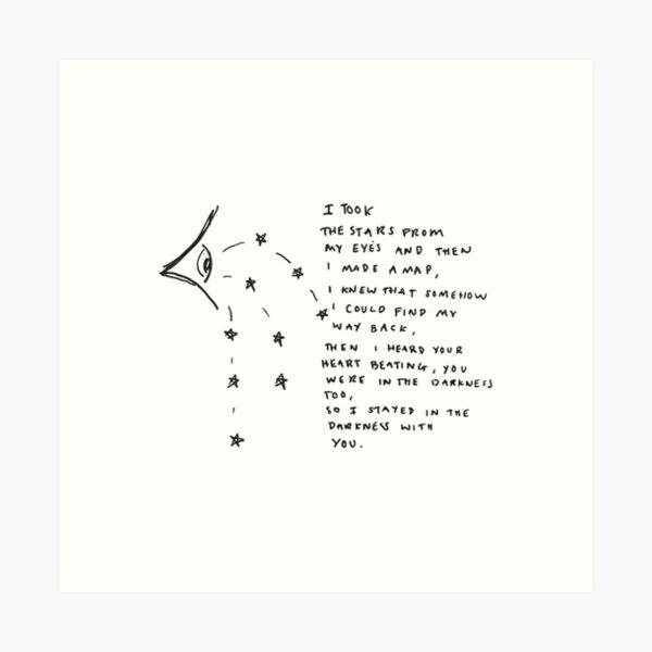 cosmic love xx Art Print