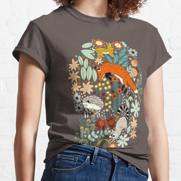 Textured Woodland Pattern  Classic T-Shirt
