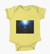 Abstract Underwater One Piece - Short Sleeve
