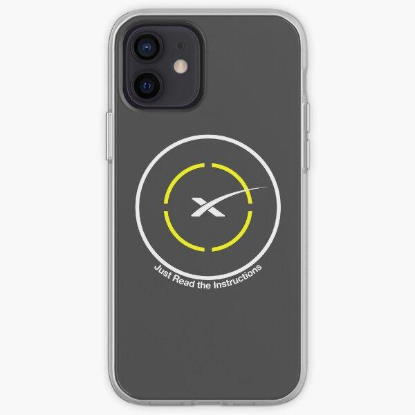 SpaceX - Il suffit de lire les instructions Droneship Coque souple iPhone