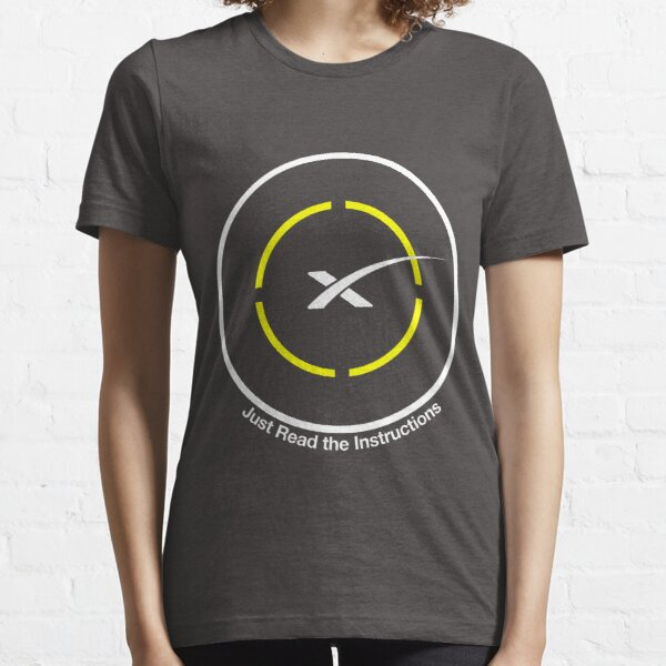 SpaceX - Just Read the Instructions Droneship Essential T-Shirt