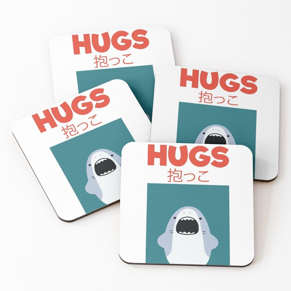 Hugs! Coasters (Set of 4)