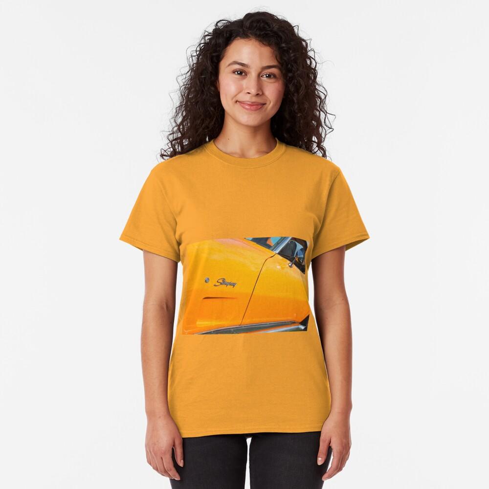 Bright Orange Chevrolet Corvette Stingray Classic T-Shirt