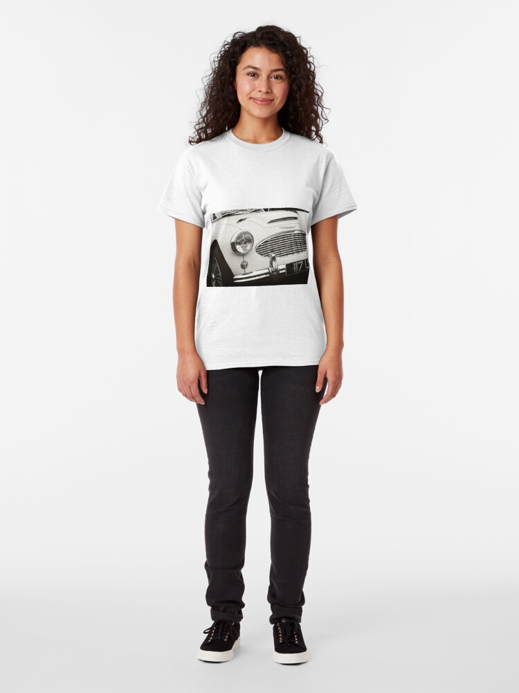 Alternate view of Austin Healey Classic Sports Car Front Classic T-Shirt