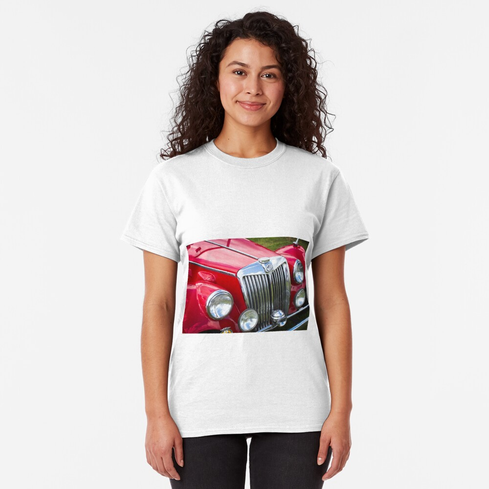 Red MGA Vintage Classic Sports Car Classic T-Shirt