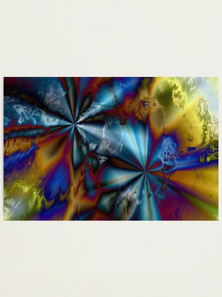 Alternate view of Hyperdrive: sci-fi outer space Photographic Print