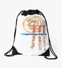 Marina Bay Sands - the rising sun Drawstring Bag