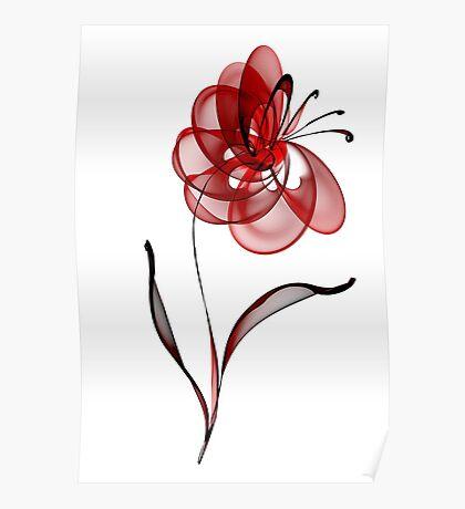 Vector Flower Poster