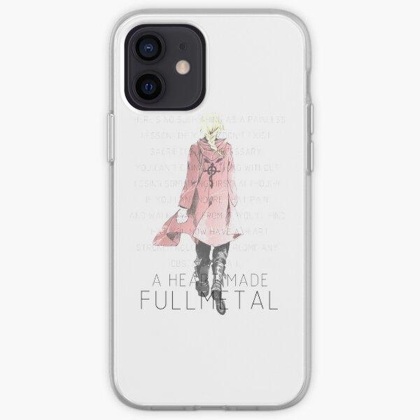 un coeur fait Fullmetal ~ Coque souple iPhone