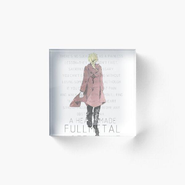 a Heart made Fullmetal~ Acrylic Block