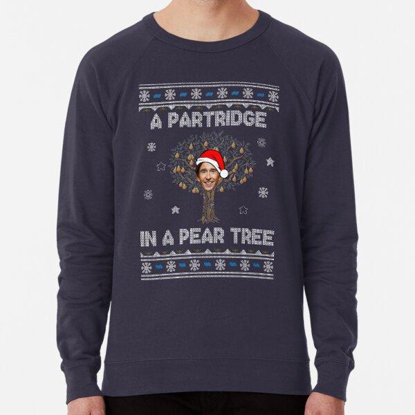 Alan Partridge In A Pear Tree Christmas Lightweight Sweatshirt