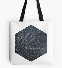 Be your own hero. Tote Bag