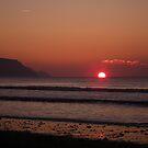Cornish Sunset 02 by Peter Barrett