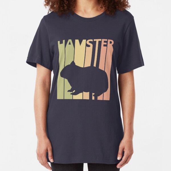 Cute Hamster Animal Slim Fit T-Shirt