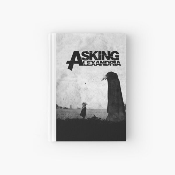 The Black - Asking Alexandria Hardcover Journal