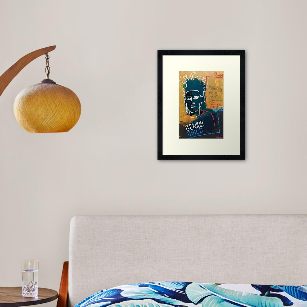 Talent Framed Art Print