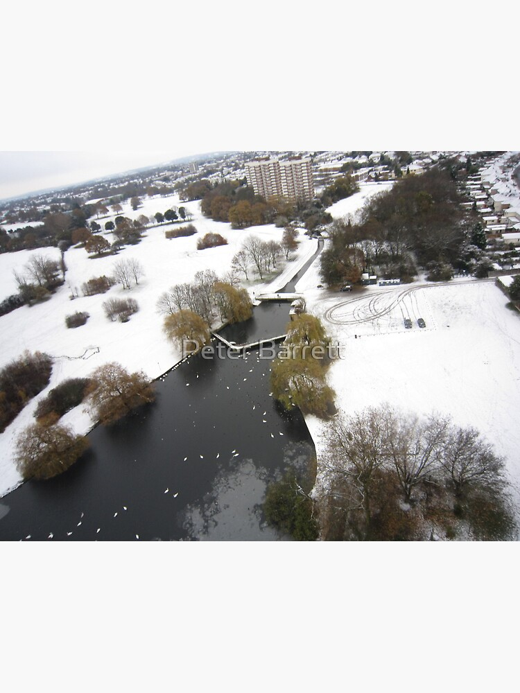 Snowy Hornchurch from Above by hartrockets