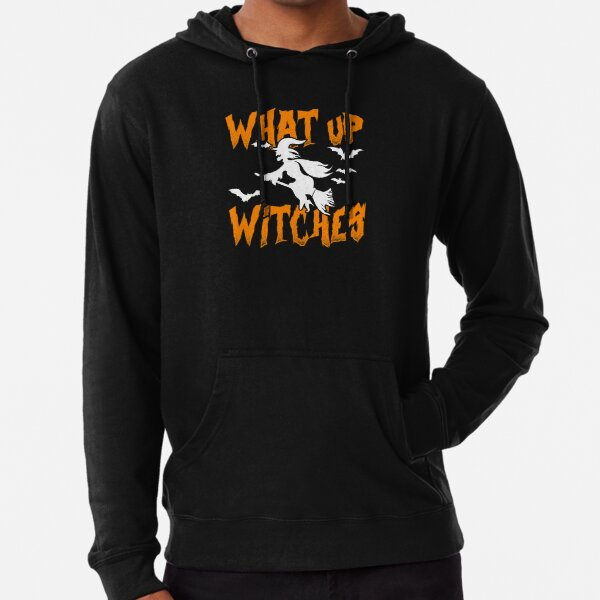 What Up Witches Lightweight Hoodie