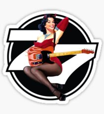 77 El Deora -Pin Up (a) Sticker